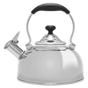 Chantal Premium Stainless Steel Whistling Teakettle 1.8 Quart by Chantal