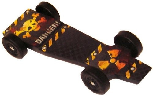 Inferno SX Extreme Speed Pinewood Derby Car Kit