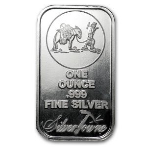 Silvertowne One Ounce .999 Fine Silver Bullion Bar