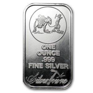 Cheap New 1 Oz 999 Fine Silver Bars Silvertowne