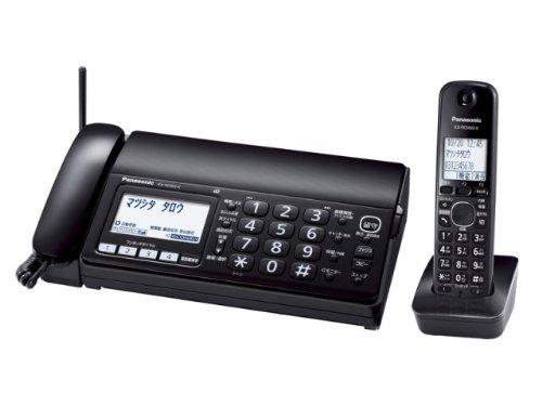 Panasonic おたっくす デジタルコードレス普通紙ファックス 子機1台付き 1.9GHz DECT準拠方式 ブラック KX-PD303DL-K