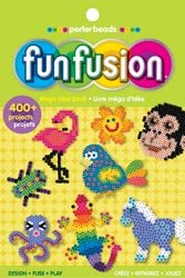 Perler Beads Mega Idea Book lv PE-22747; 6 Items/Order