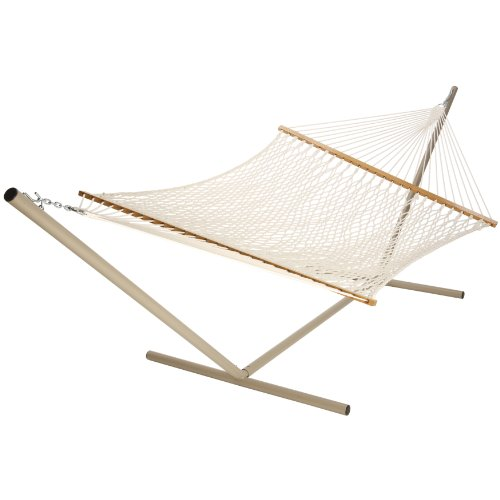 Castaway PC-15CW Extra Large Cotton Rope Hammock