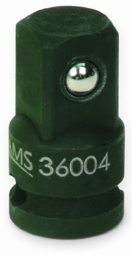 Snapon 36004 Jh Williams 3/8-Inch Female By 1/2-Inch Male Impact Adapter