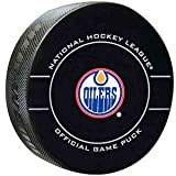 Edmonton Oilers NHL Hockey Official Game Puck