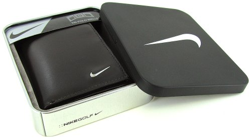 Nike Men's Tri-Fold Leather Wallet