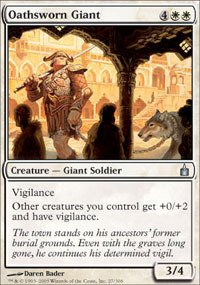 Magic: The Gathering - Oathsworn Giant - Ravnica front-900424