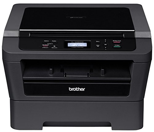 Brother Printer EHL2280DW Refurbished Wireless Monochrome Printer with Scanner and Copier