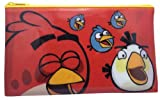 Angry Birds Space Waterproof Zipper top Pouch Pen Pencil case, Stationery bag (Red)