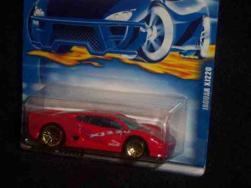 2000 - Mattel - Hot Wheels - Collector #160 - Jaguar XJ220 - Red - Jaguar Graphics / NO HW Logo - Blue Tint Windows - New - Out of Production - Limited Edition - Collectible
