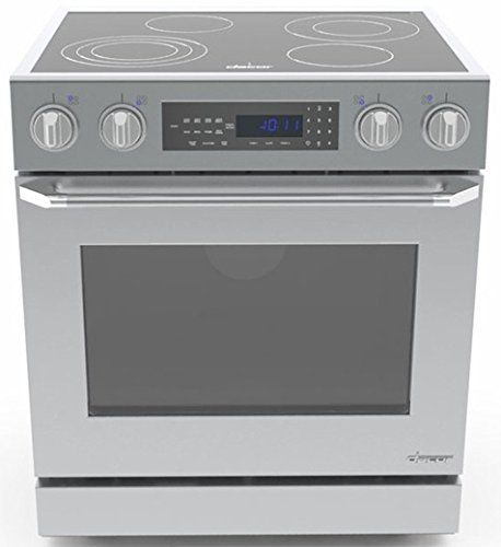 Dacor Dr30Eis Distinctive 30 Stainless Steel Electric Slide-In Smoothtop Range - Convection front-612587