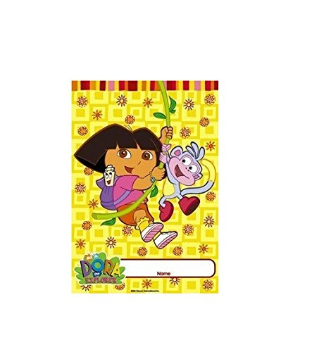 Nick Jr. Dora the Explorer 8 Party Favor Gift Bags