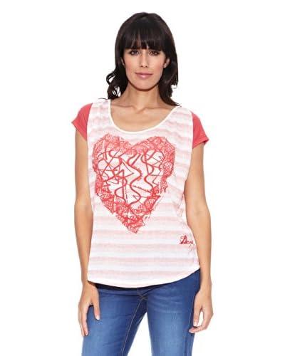 Desigual T-Shirt Gepet Rep [Rosso]