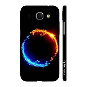 Enthopia Designer Hardshell Case I am Hot N' I am Cold Back Cover for Samsung Galaxy Core Plus