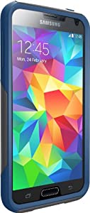 Otterbox [Commuter Series] Samsung Galaxy S5 Case - Frustration-Free Packaging Protective Case for Galaxy S5  - Blueprint (Grey/Blue)