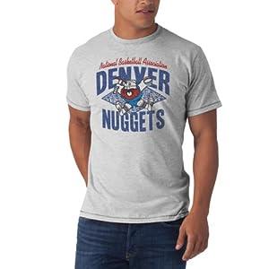 NBA Denver Nuggets Marksmen Tee, Fog by