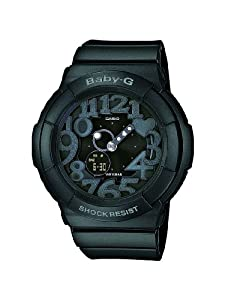 Casio Baby G Scuba Dive Black Dial Women's Watch - BGA131-1B [Watch]