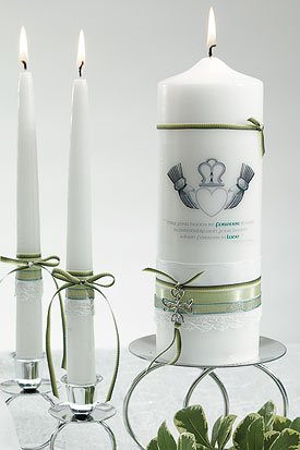 Celtic Charm Unity Pillar Candle