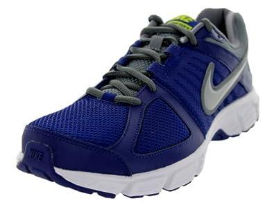 Nike Men's Downshifter 5 Dp Ryl Bl/Mtlc Pltnm/Cl Gry/Wh Running Shoe 7.5 Men US