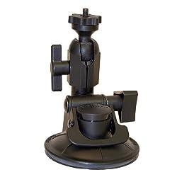 Panavise ActionGrip 13120 Single Knuckle Suction Cup Camera Mount (Matte Black)