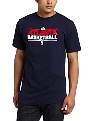 NBA Atlanta Hawks Men's Practice Tee (Navy Blue, XX-Large)