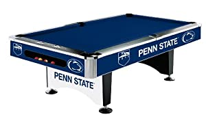 NCAA Penn State Nittany Lions Pool Table, 8-Feet by Imperial