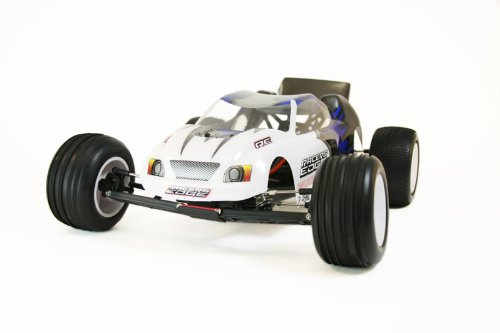 Racers Edge 2040B Traverse 1:10 2WD Stadium Truck with 2.4GHz Radio and Brushless Power, Blue