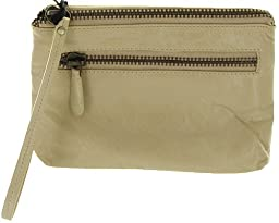 Latico Clara Clutch,Almond,One Size