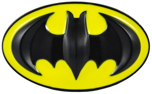 Deluxe Classic Batman Belt Buckle with FREE Belt (Yellow/Black) #8 and #10 (XX-Large 43-45 inches)