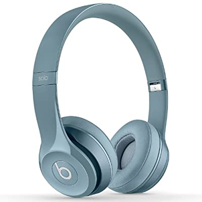 Beats By Dr. Dre SOLO 2 On Ear Headphones B0518 | Iconic Sound Tune with Emotion (Gloss Grey)