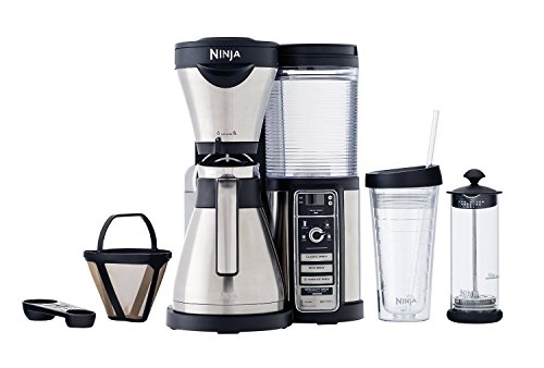 Ninja Coffee Maker, Bar Brewer Style with 4 Brew Size Options, From Single Cup to 10 Cup ...