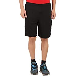 Lavos Mens Black Shorts (XX-Large)