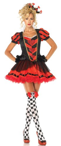 Leg Avenue Women's Dark Heart Queen Costume