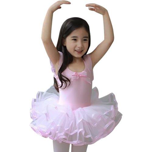 Little Girls' Short Sleeve Tutu Ballet