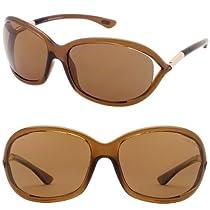 Tom Ford Jennifer FT0008 Sunglasses-48H Brown (Brown Lens)-61mm