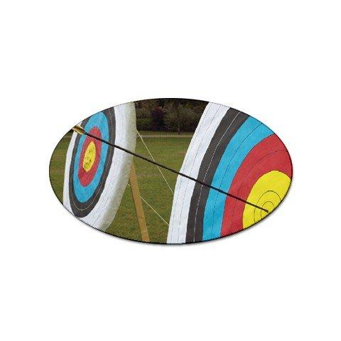 Archery Target Sport Oval Magnet