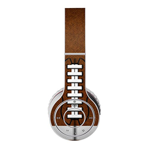 Football Design Protective Decal Skin Sticker (High Gloss Coating) For Beats Wireless Headphone (Headsets Not Included)
