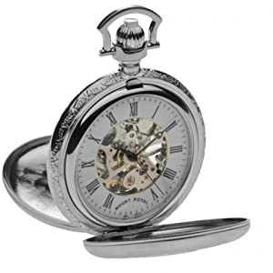 Mount Royal Pocket Watch B42 Chrome Plated Double Half Hunter