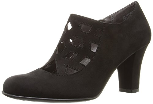 Aerosoles Women's Petroleum Boot, Black Fabric, 8.5 M US