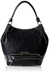 Gussaci Italy Women's Handbag (Black) (GC268)