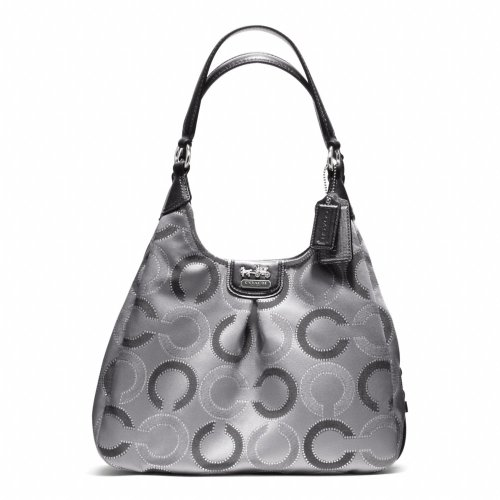 New Coach 21215 Madison Op Art Maggie Sateen