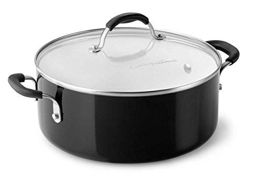 Calphalon Ceramic Nonstick Cookware Chili Pot, 5 quart, Black (Calphalon Chili Pot compare prices)