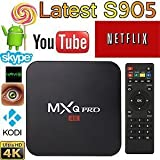 NPET MXQ Pro TV Box - Android 5.1 with All Channels Amlogic S905 Quad-core 64-bit ARM Cortex-A53 Support XBMC KODI