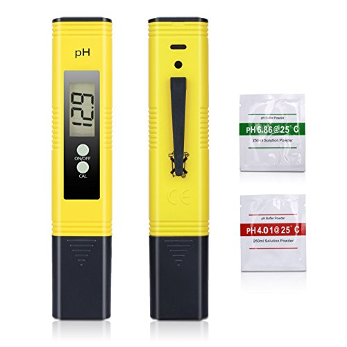 Digital PH Meter, Sinvitron Pen-type PH Tester - 0.05 Accuracy, ATC Function, Auto Calibration Large LCD Display Best Water Quality Test Kit Aquarium, Swimming Pool, Hot Tub, Hydroponics, Wine (Hot Tub Testing Kit compare prices)