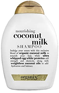 Organix Nourishing Shampoo, Coconut Milk, 13 Ounce (Pack of 2)