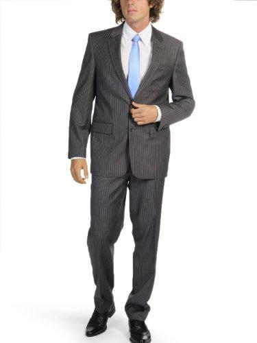 Mishumo Pinstripe Suit (UK: 42 tall / EU: 102, grey)