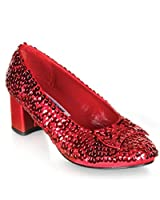 Red Sequin Dorothy Womens Shoes