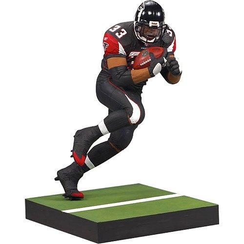 McFarlane Toys NFL Sports Picks Series 20 2009 Wave 1 Action Figure Michael Turner (Atlanta Falcons) Black Jersey