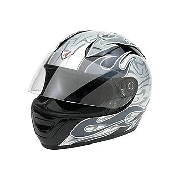 Bottari Moto 64589 Casque Extreme, Noir/Gris, Taille : XL