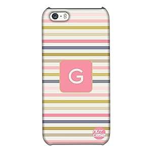 Alphabet / Letter Designer iPhone 5S Case Cover Nutcase - MONOGRAM / INITIAL NAME -G